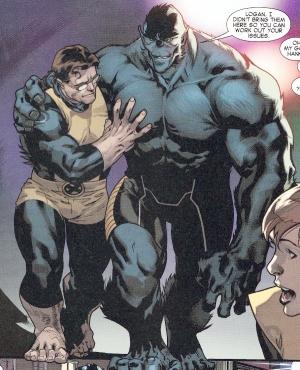 Hank McCoy Beast's new look in All-New X-Men #5 drawn by Stuart Immonen