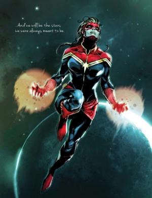 Emma Rios Captain Marvel Carol Danvers Marvel NOW!