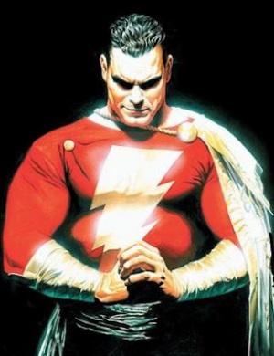 Captain Marvel Shazam DC Comics by Alex Ross