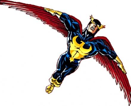 Nighthawk Marvel Batman knock-off
