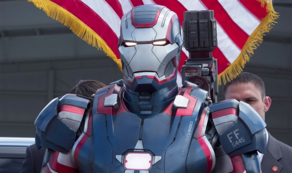 Iron Man 3 War Machine as Iron Patriot Marvel