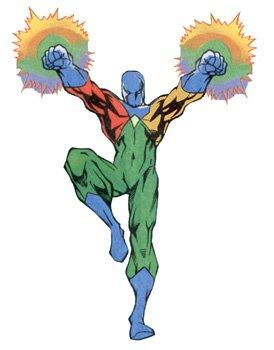Marvel Doctor Spectrum Green Lantern knock-off